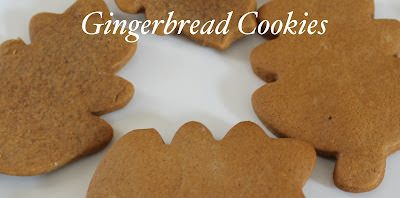 Girls Night In: Gingerbread Cookies