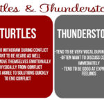 Turtles and Thunderstorms: Communication Style During Conflict