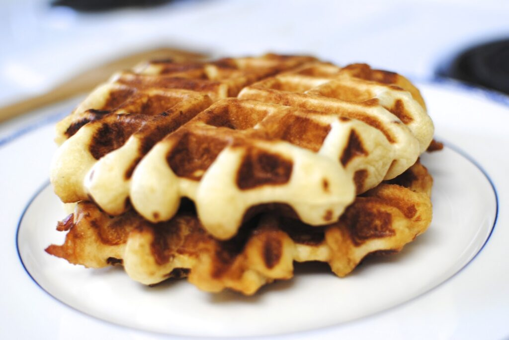 stuffed waffles