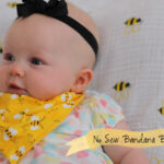 No Sew Bandana Bib + Funday Monday