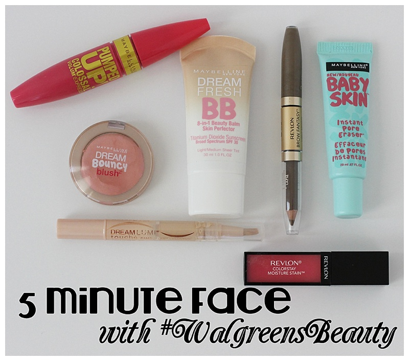 Lifestyle blogger Carly from Lipgloss and Crayons features a quick and easy 5 minute face makeup tutorial. You can get this done and be out the door quickly!