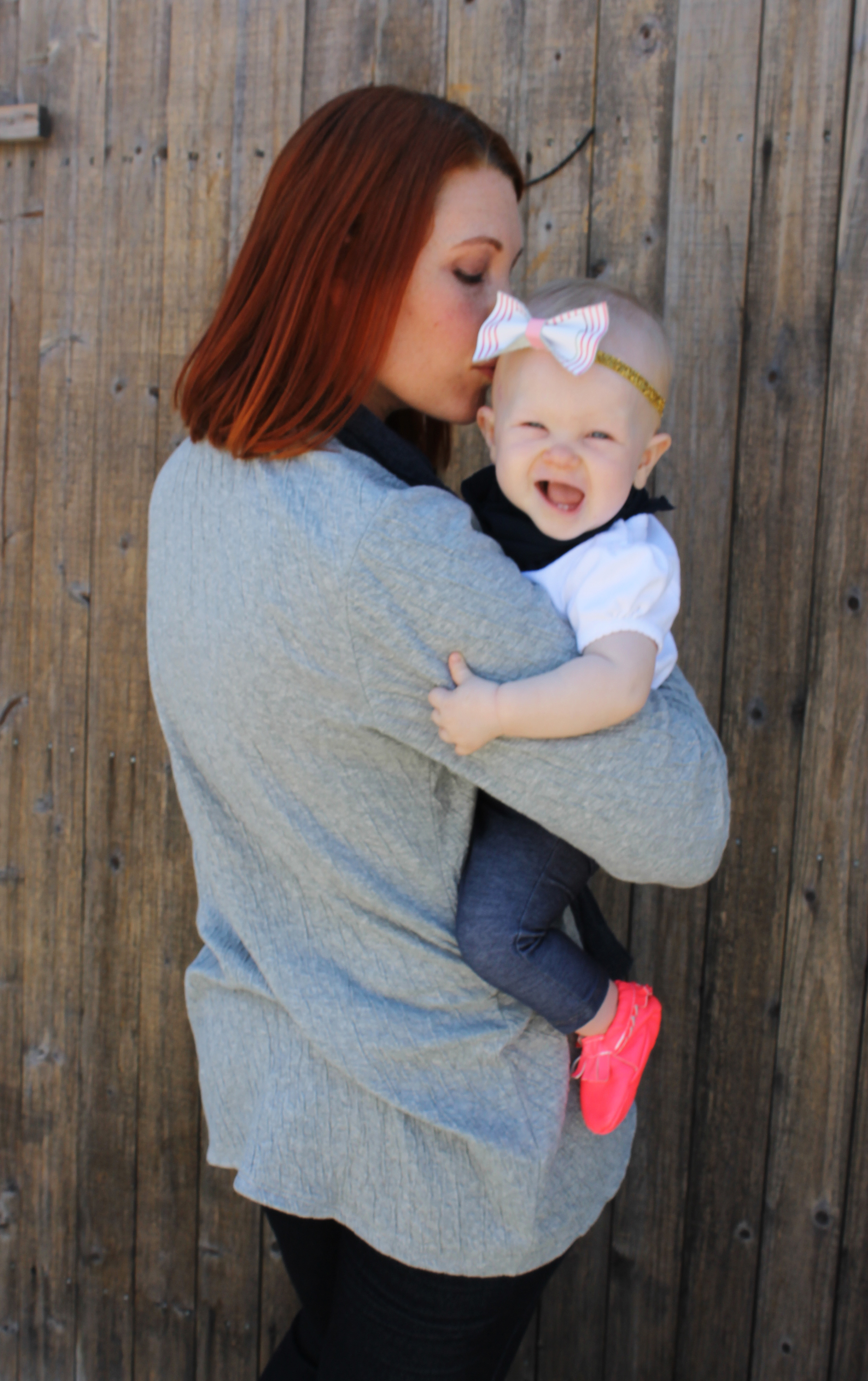 Mommy And Me Fall Staples With J Jill Lipgloss And Crayons
