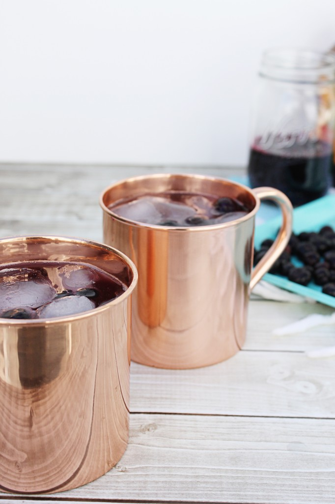 I can't wait to try this blueberry moscow mule recipe! What an easy spring drink recipe, perfect for easter or a spring bridal shower!