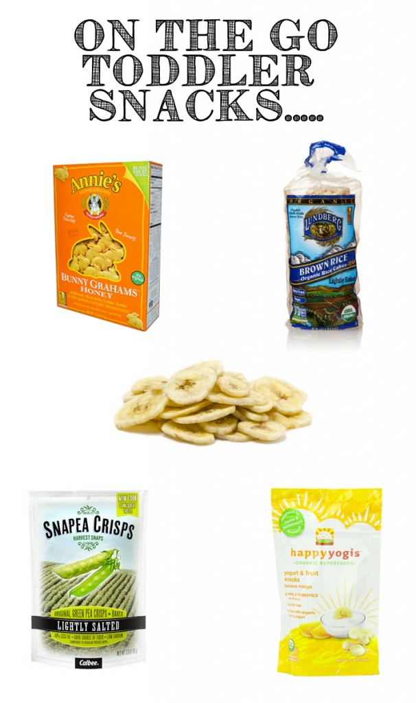 These are the perfect on the go toddler snacks? Airplane, road trips, long days away from home.....I need all of them!