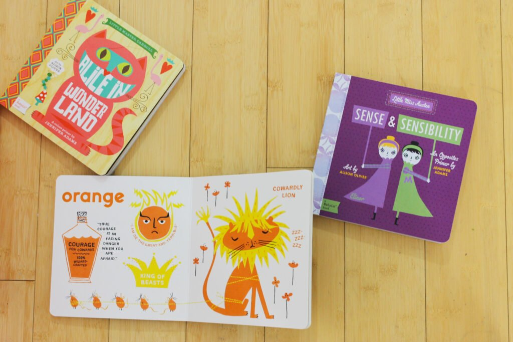 How adorable are these BabyLit books? These board book versions of classic literature are a great addition to any kid's library!