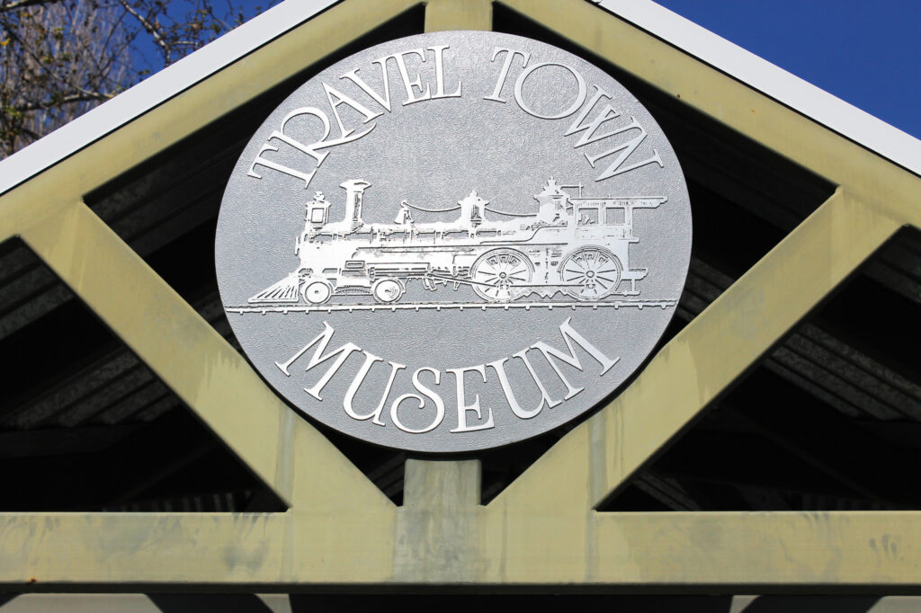 Travel Town is one of the best places in los angeles to visit with a kid! This resting spot for retired trains is free, and great for toddlers!