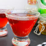 Blackberry and Honey Martini