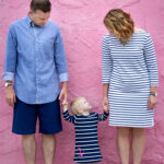 What to Wear in Family Photos: Nautical