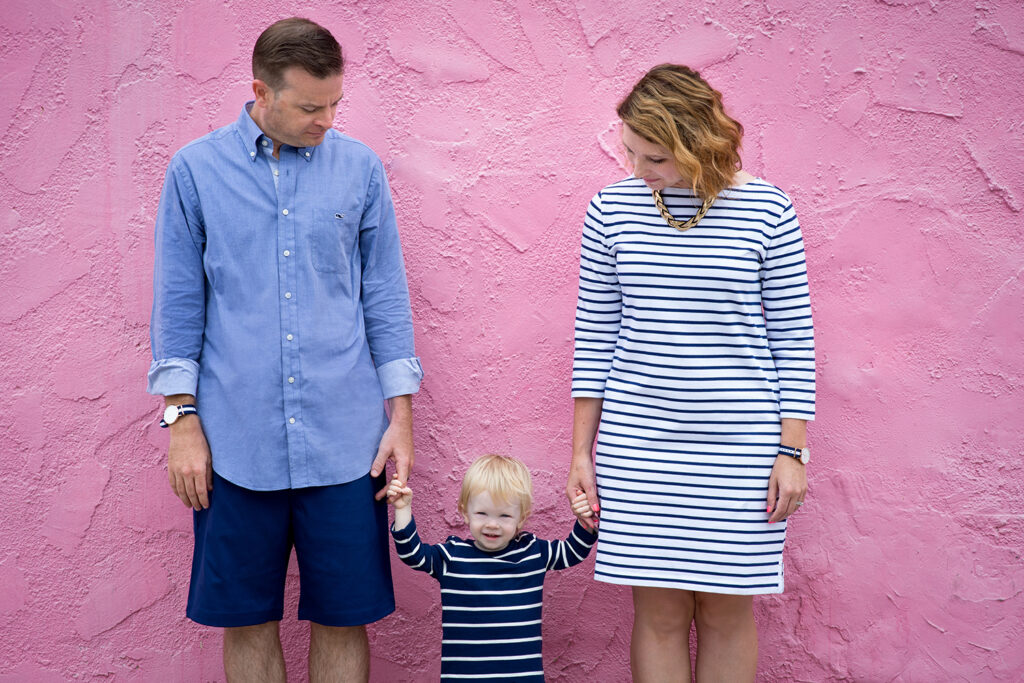 nautical themed family photos
