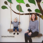 Mommy and Me: houndstooth sweater