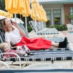 Mama / Daughter Style Series: Red Midi Skirt