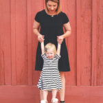 black and white mommy and me outfit8