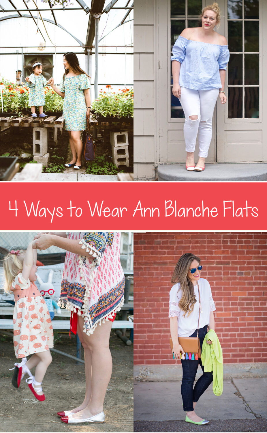 how to wear flats pin