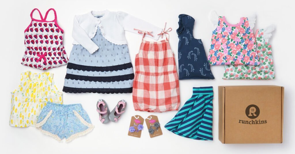 Girls SS16 clothes in box - 1 - FB ad