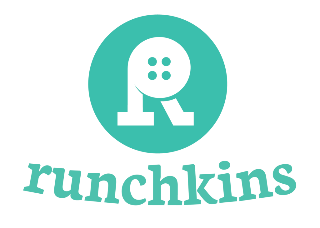 Runchkins Logo - Primary Color with White Fill