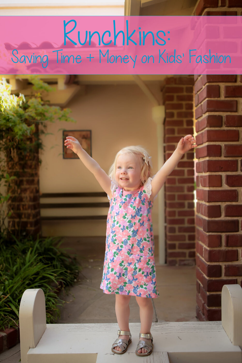Want to save money and time on shopping for kids' fashion? Runchkins is a great way to get stylish kids' clothing delivered to your door AND they buy back pieces once your child outgrows them!