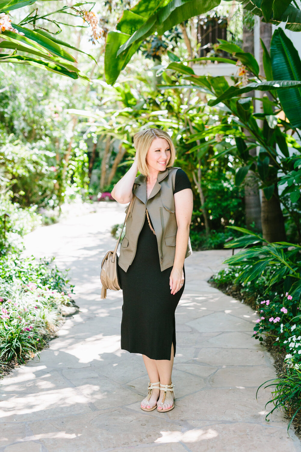 Stitch Fix Review July: Three simple tips from the Stitch Fix Styling Team that tell how to get great staples like this Amour Vert Ahren Knit Dress!