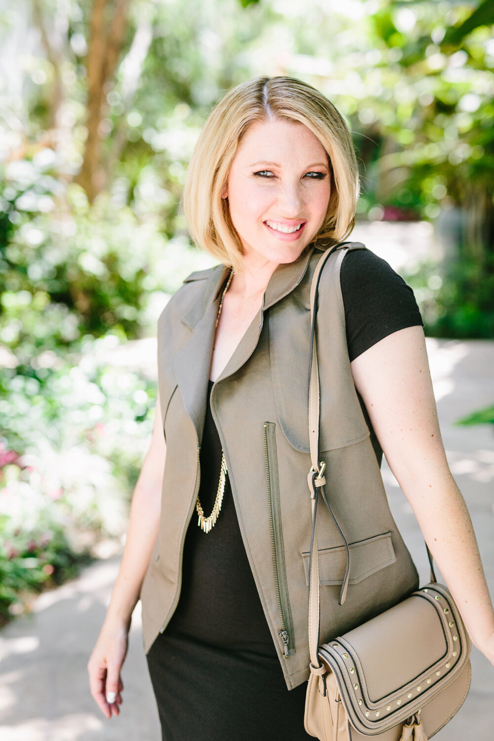 Stitch Fix Review July: Three simple tips from the Stitch Fix Styling Team that tell how to get great staples like this Pixley Vincenzo Cargo Vest!