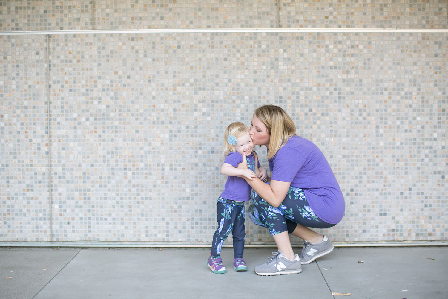 I love these mommy and me leggings! Great for a casual outfit!