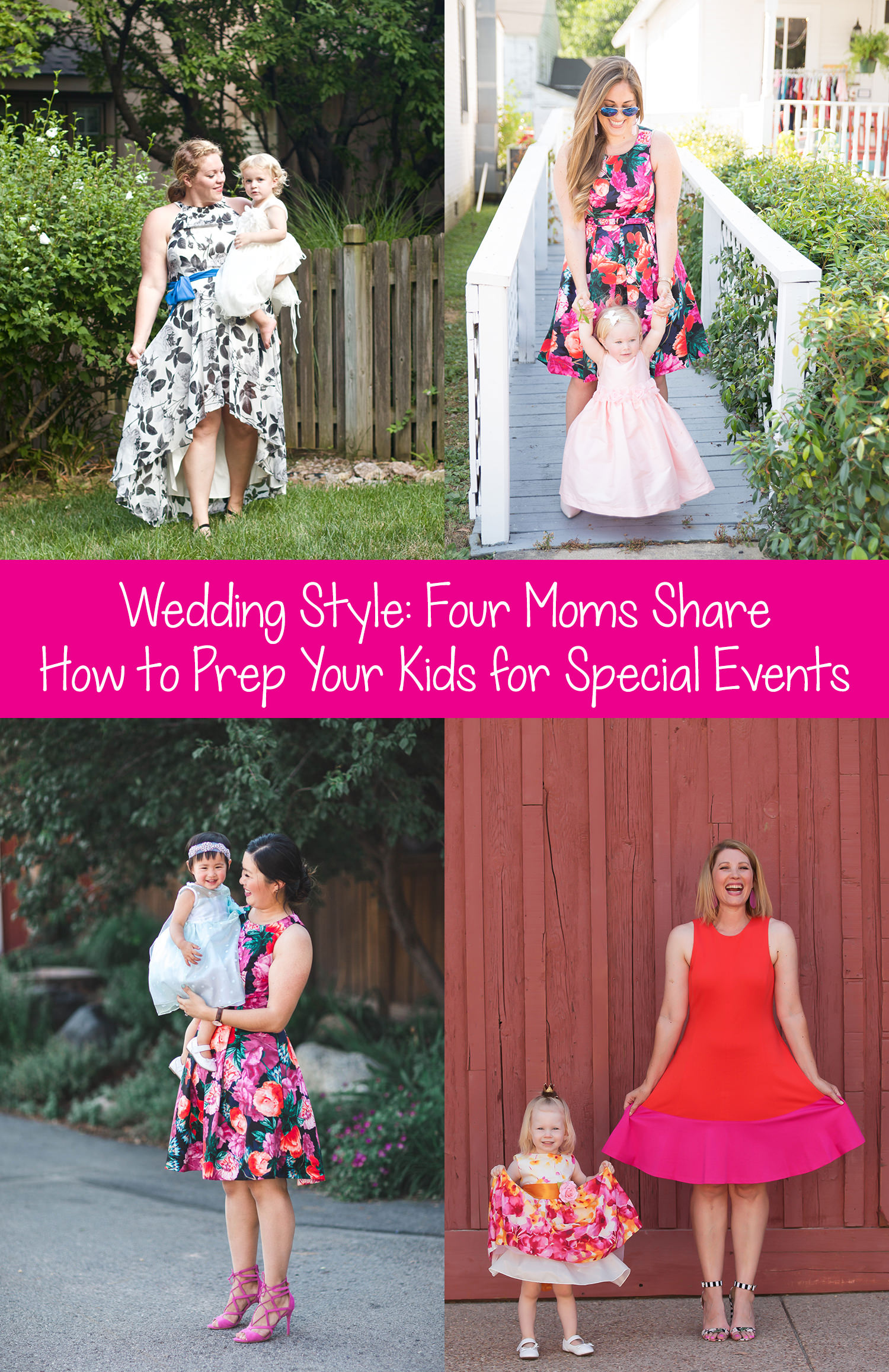 Wondering what to wear to a wedding? And how to prep your kiddos? These tips will help the whole family enjoy weddings in STYLE!