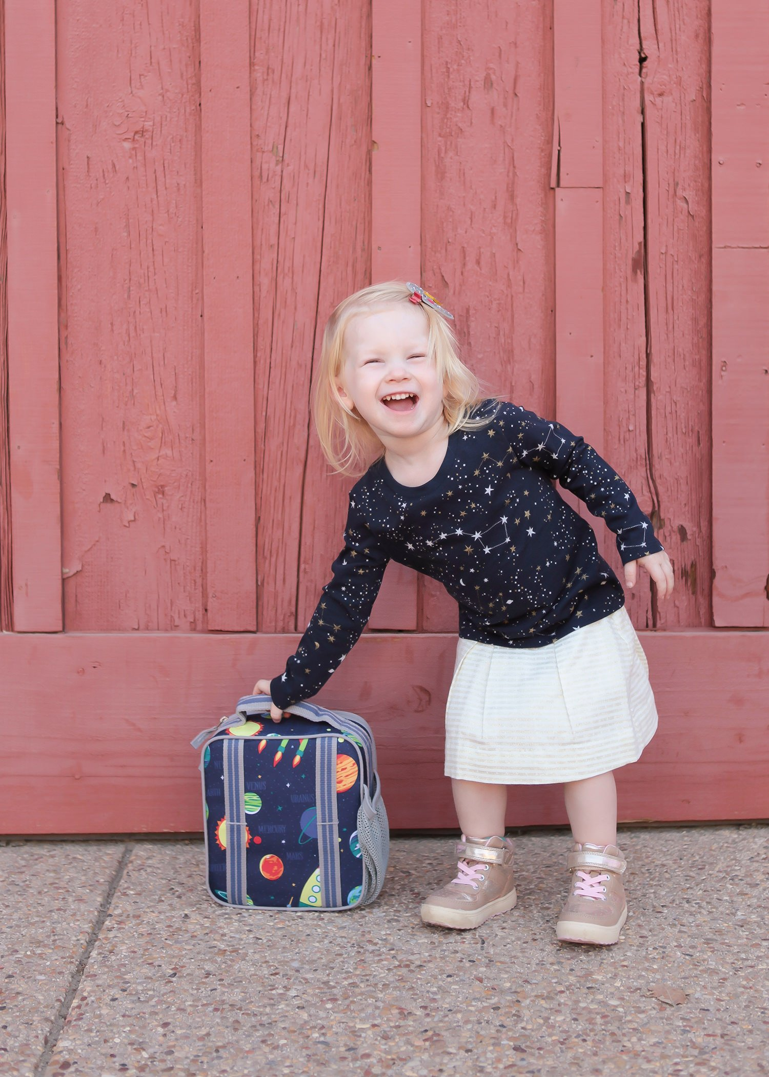 Back to school shopping got you a little nervous? Everything your kiddo needs to get from summer to winter in style-it's a complete fall capsule wardrobe!