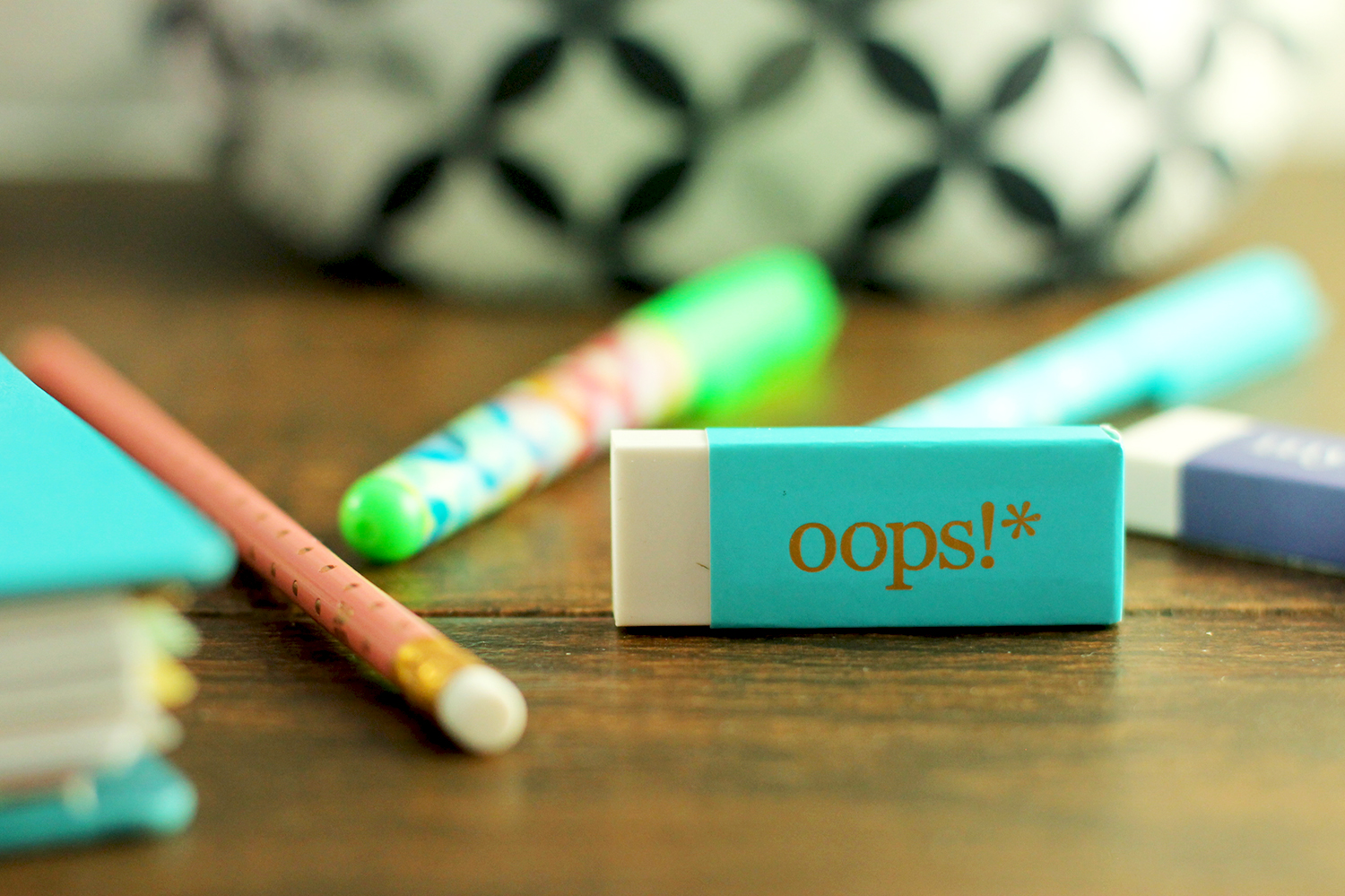 This erin condren eraser is too cute!