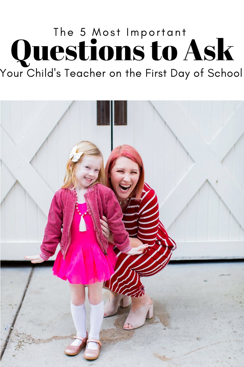 As you get ready for the first day,  bookmark this page.....these are the most important things to ask your child's teacher on the first day of school!