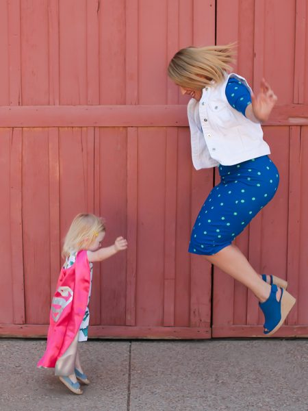 Mamas and Minis: How to Teach Your Child to Be Her Own Superhero