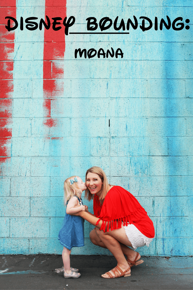 Obsessed with Disneybounding? Me too.Today I'm sharing how to set sail and Moana DisneyBound!