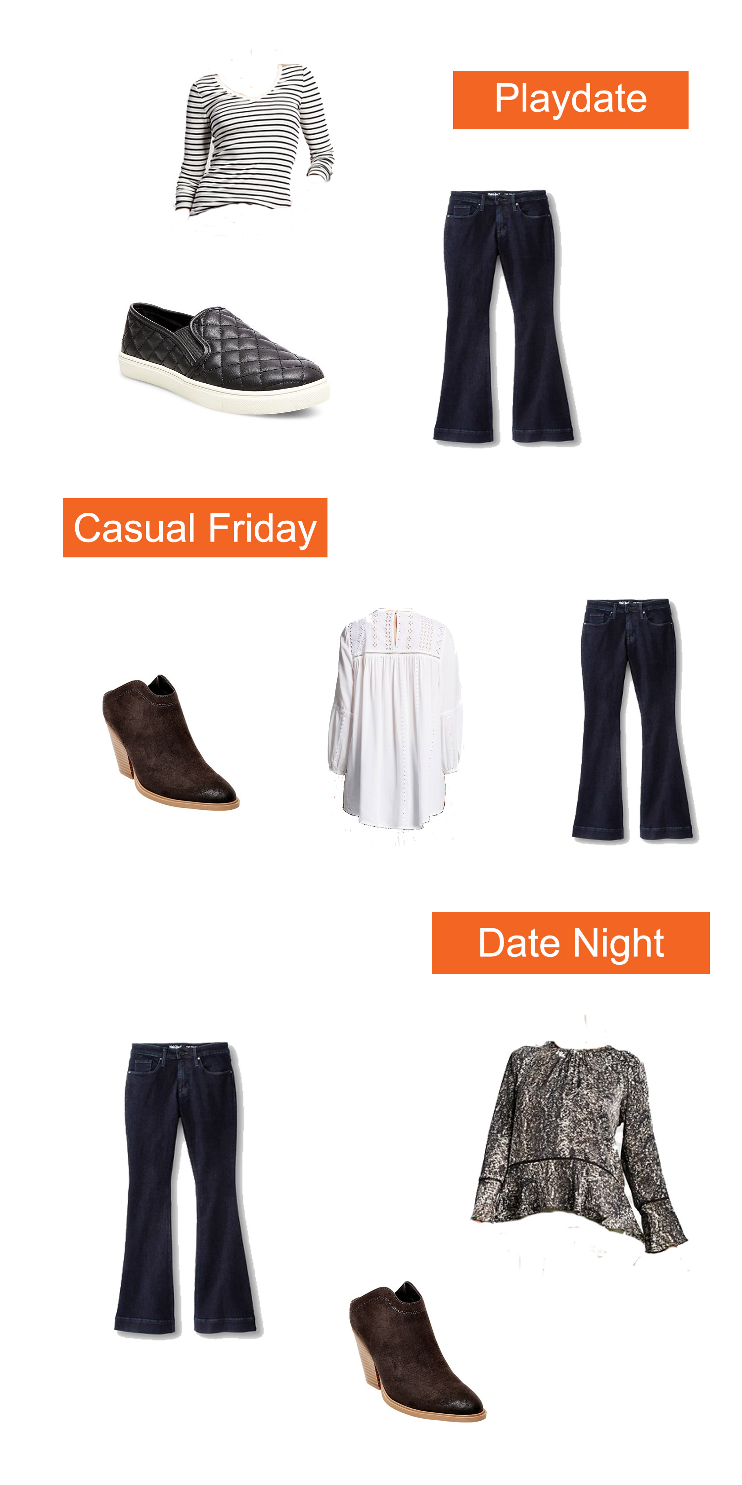 Looking for casual outfit tips? This fall capsule wardrobe is adorable, easy to wear, and won't break the bank!