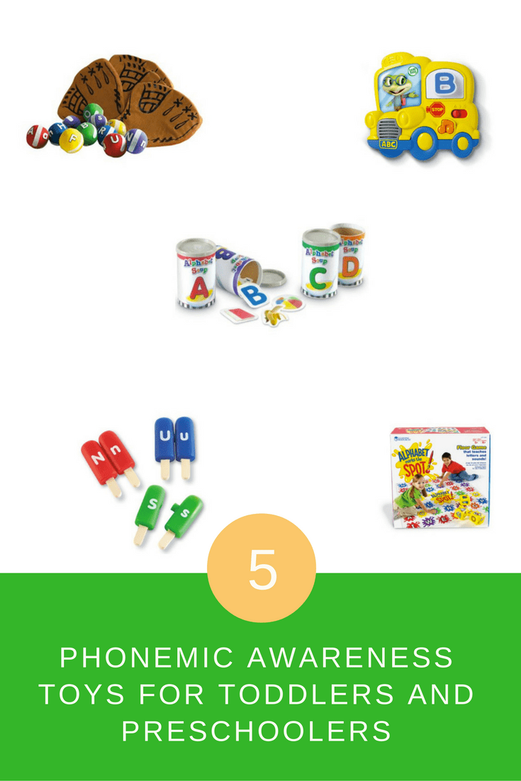 Want to help your toddler prepare for kindergarten? One of the biggest skills they'll need to have mastered? The names and sounds of the letters! These toys are a great way to practice letters, and have fun too!
