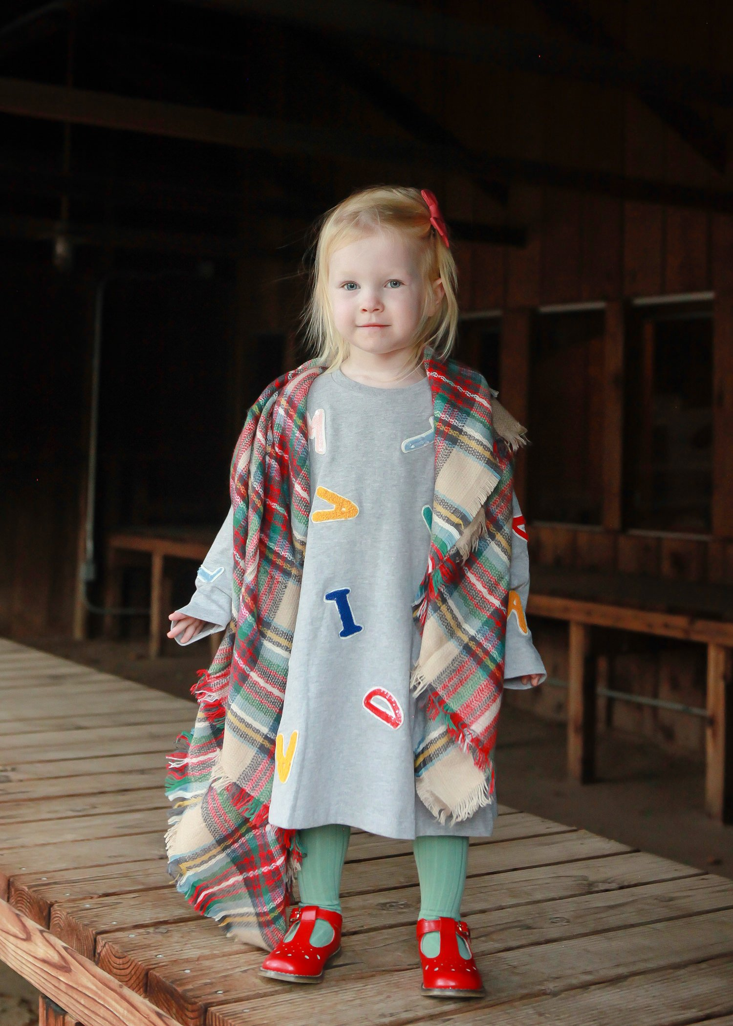How cute is this toddler blanket scarf??