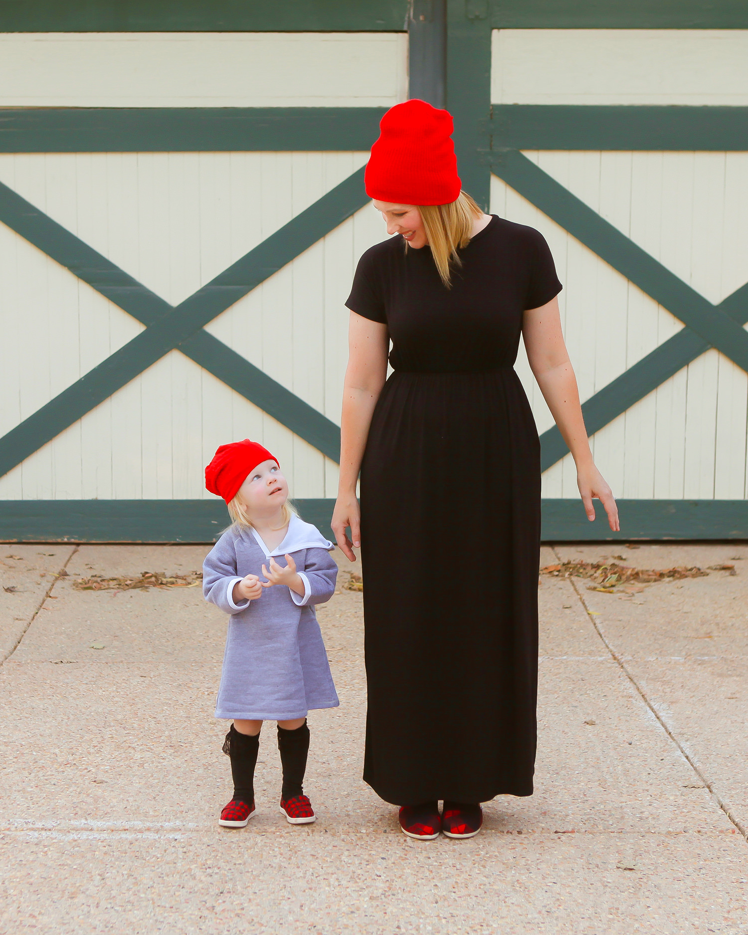 How cute is this fall mommy and me outfit?