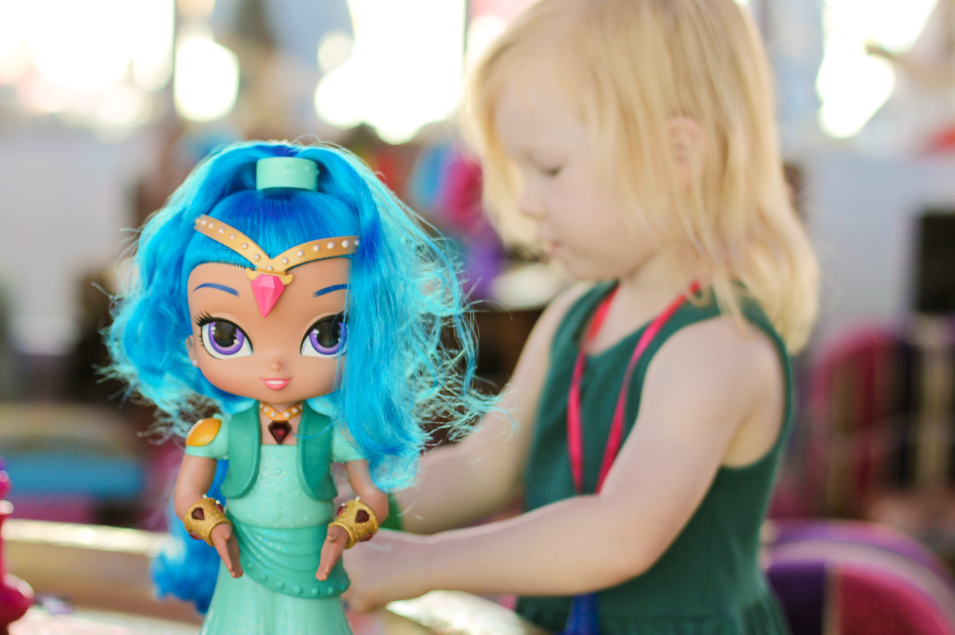 From pink haired dolls to monster trucks......why little girls should play with ALL toys.