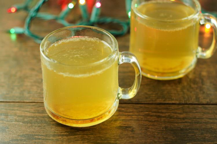 Tangerine Ginger Hot Toddy
