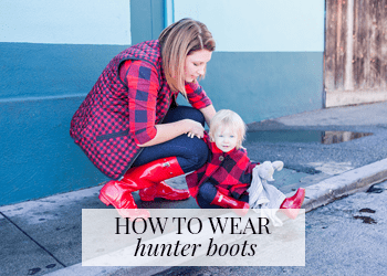 how-to-wear-hunter-boots