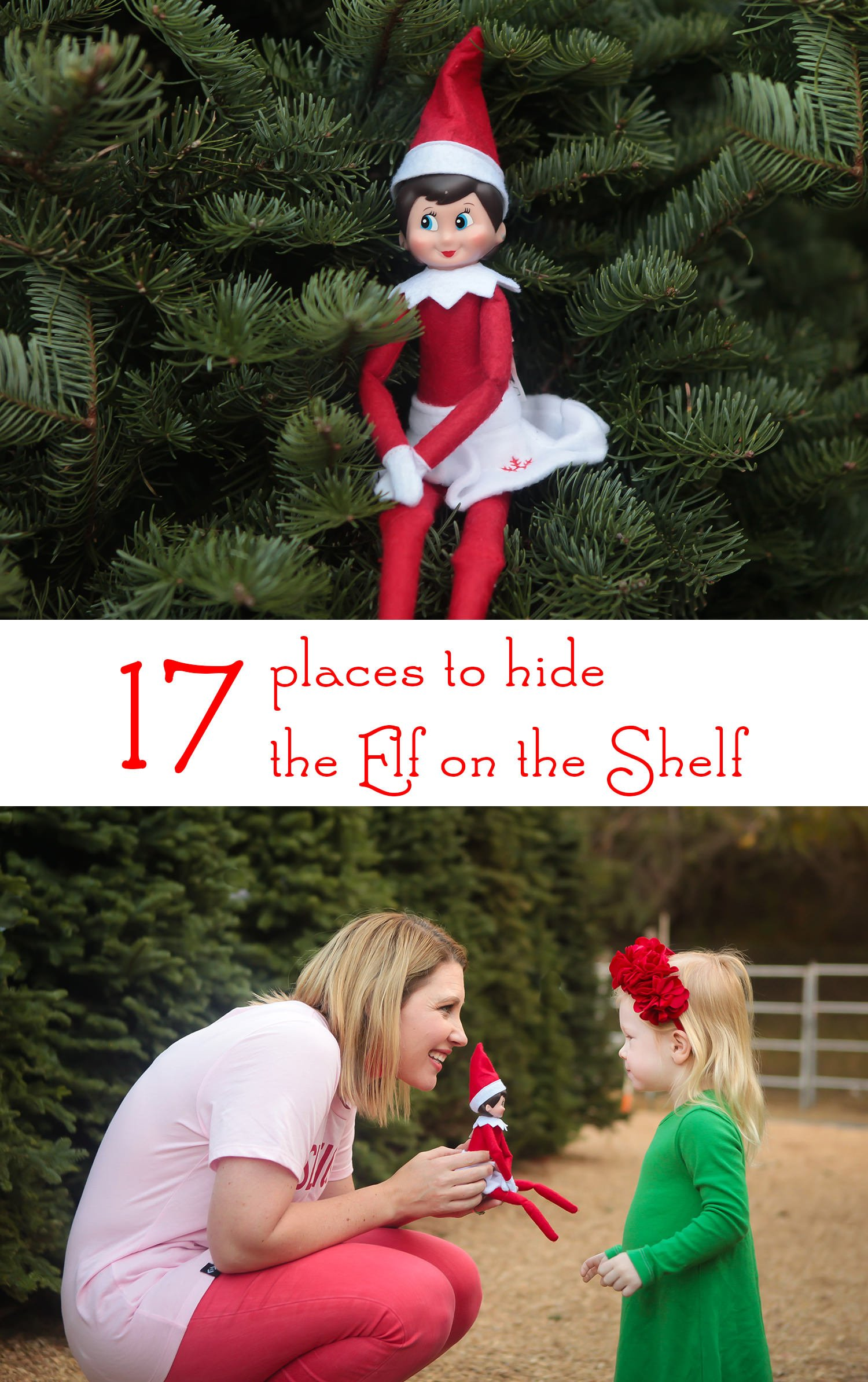 Looking for places to hide the elf on the shelf? These 17 ideas are just ADORABLE!