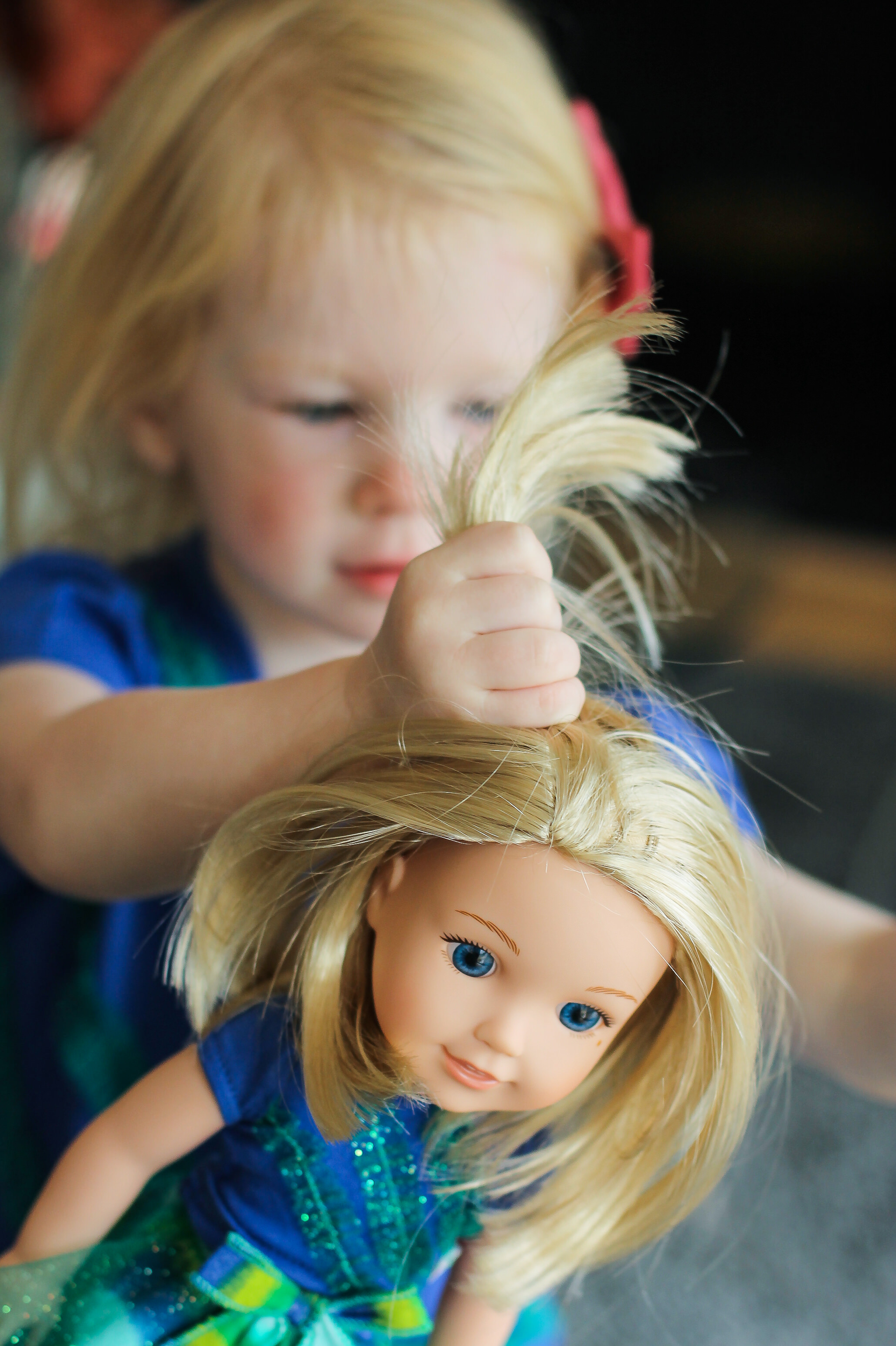 Does your little one LOVE American Girl Dolls? The new WellieWishers line is adorable, and we're giving one away!