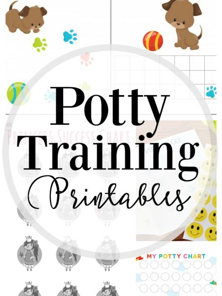 How to Potty Train: 25 Free Printables
