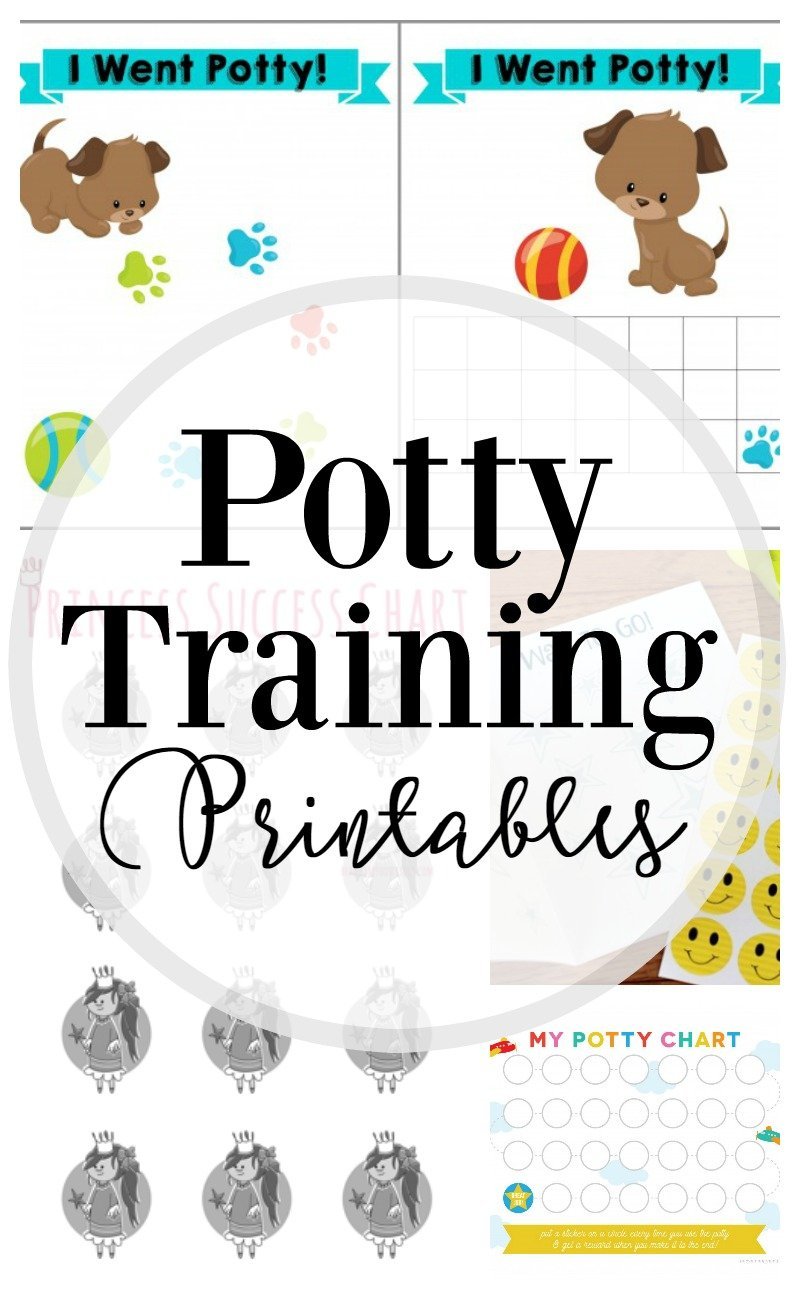 picture regarding Free Printable Potty Training Charts known as How towards Potty Prepare: 25 Cost-free Printables - Lipgloss and Crayons