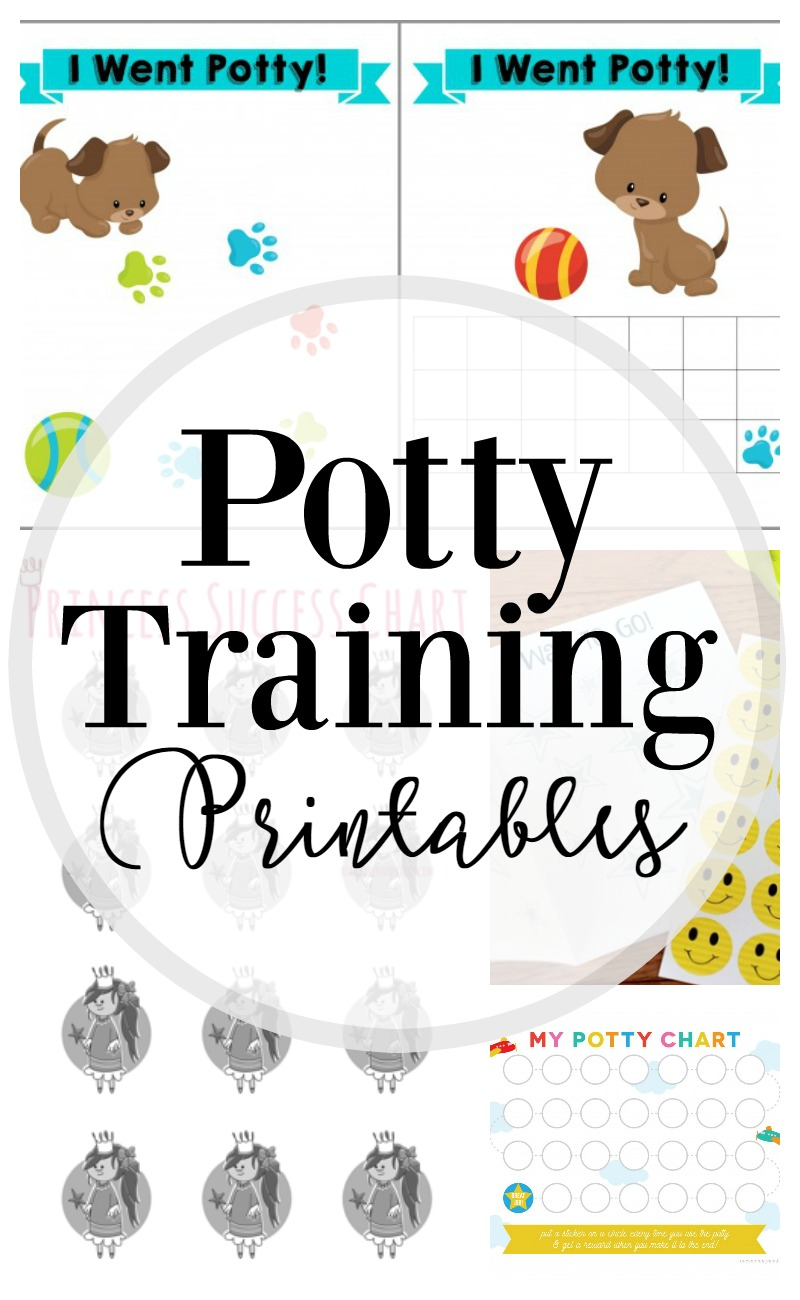 photo regarding Printable Potty Sticker Chart identified as How towards Potty Coach: 25 Totally free Printables - Lipgloss and Crayons