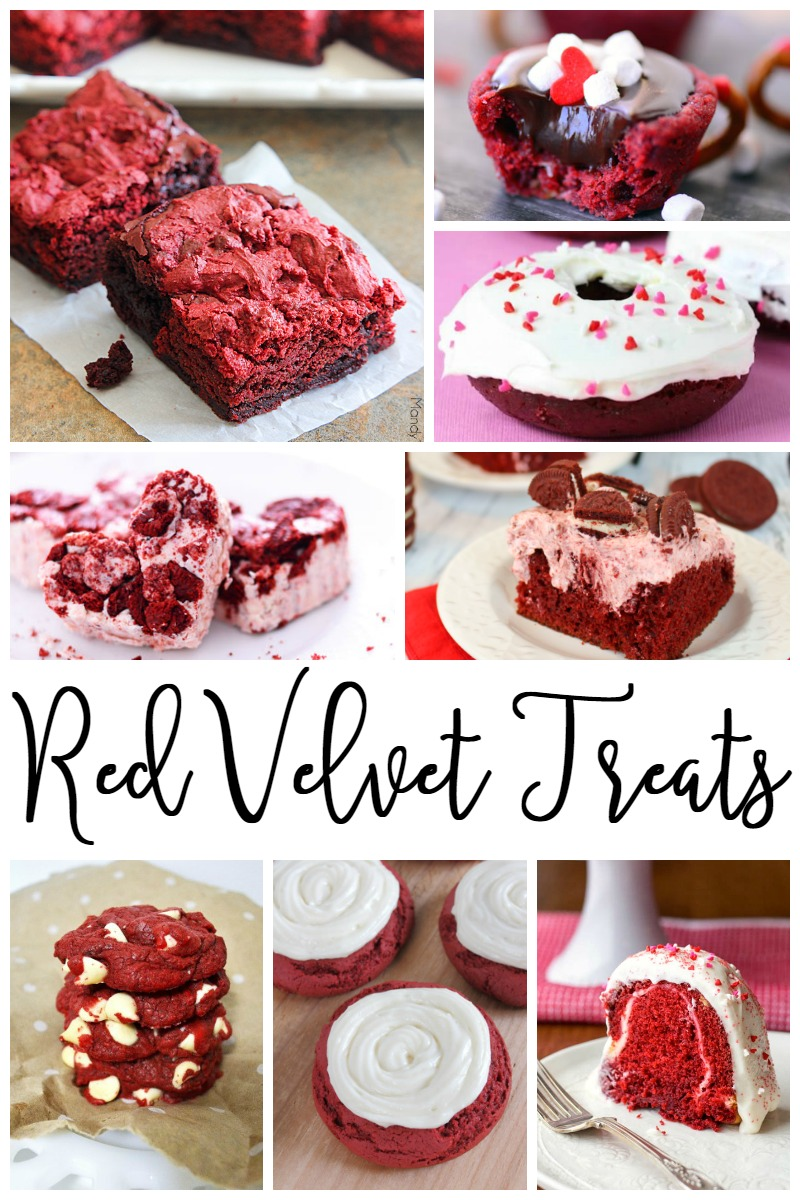 Are you obsessed with red velvet treats? These 25 items are must save Valentine's Day recipes!