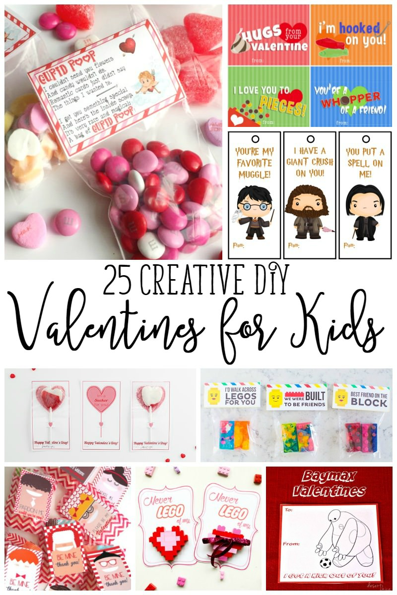 Looking for classroom Valentine's Day Cards? These 25 Valentine's Day Printables are for YOU!