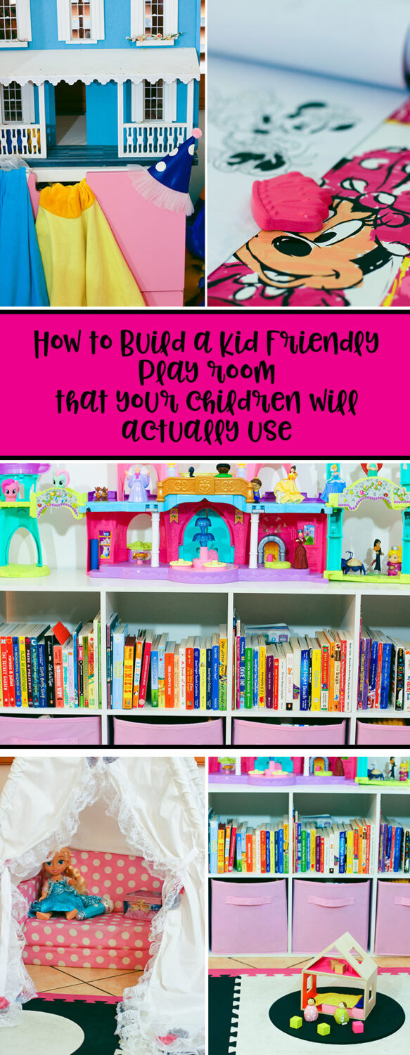 One of the questions I'm asked most? How in the word did I get our daughter to play independently? Today I'm sharing how to build a toddler playroom that your kids will actually use (and enjoy)!