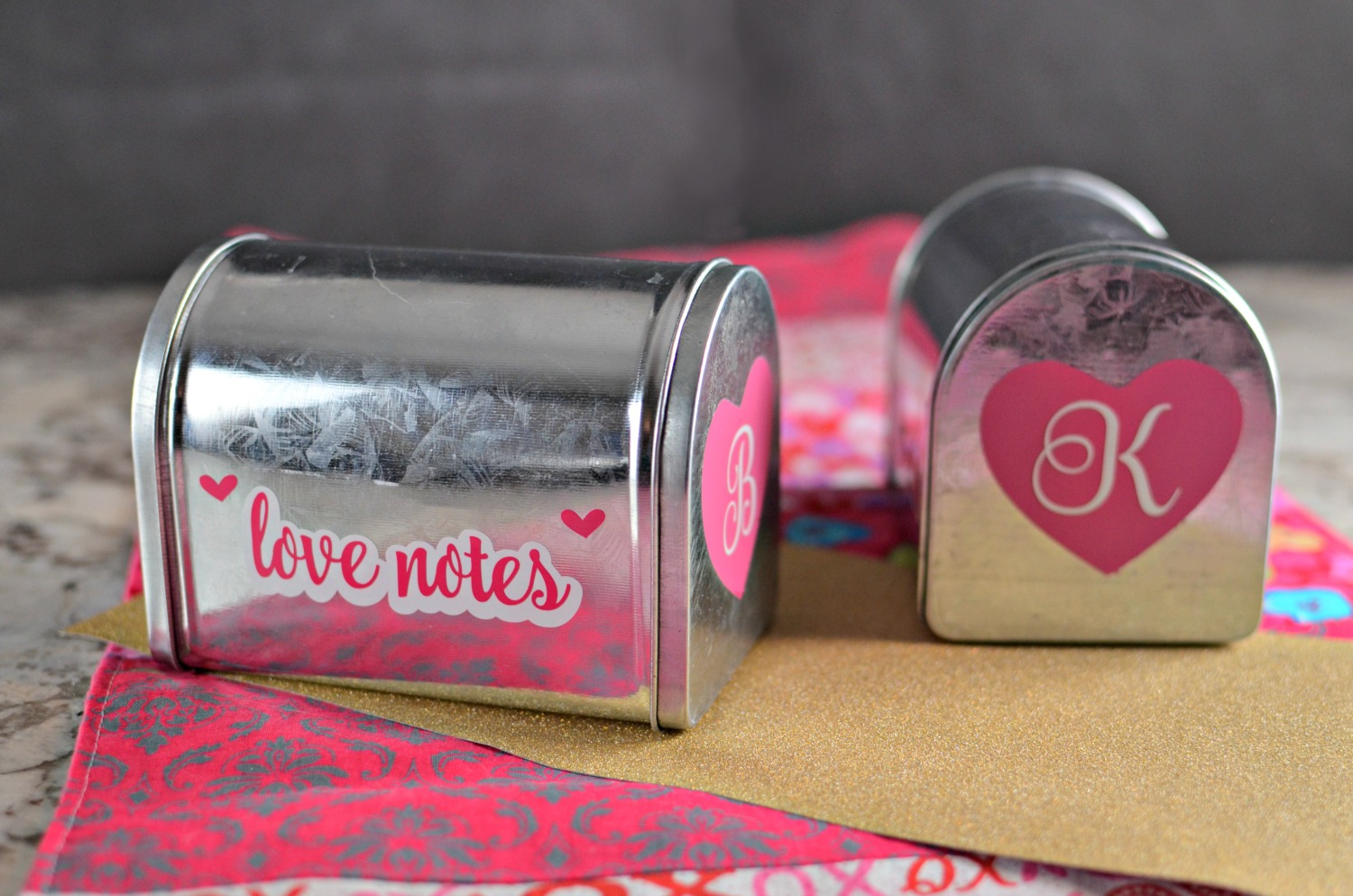 Looking for DIY Valentine Decorations? This Valentine's Day Love Notes Mailbox is a great way to connect with kids or significant others!