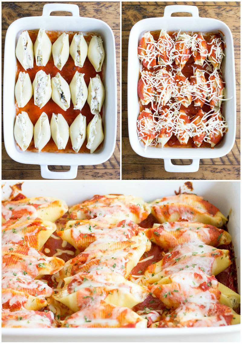Cheesy Chicken Stuffed Shells is an easy weeknight dinner the whole family will love!