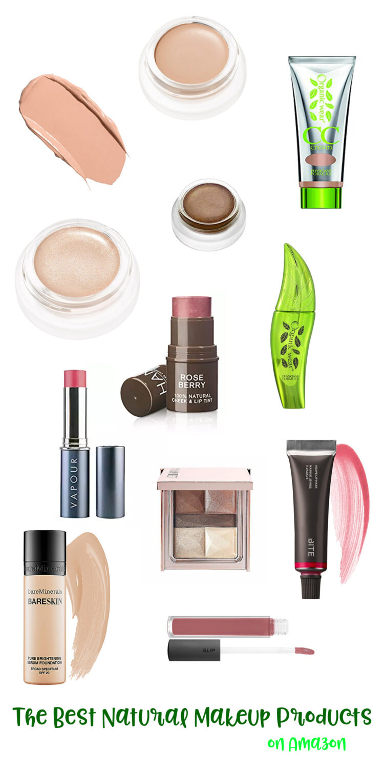 Best Natural Makeup Products On