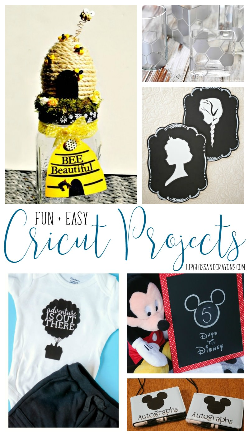 These 25 Easy Cricut Projects are the perfect way to get into crafting!