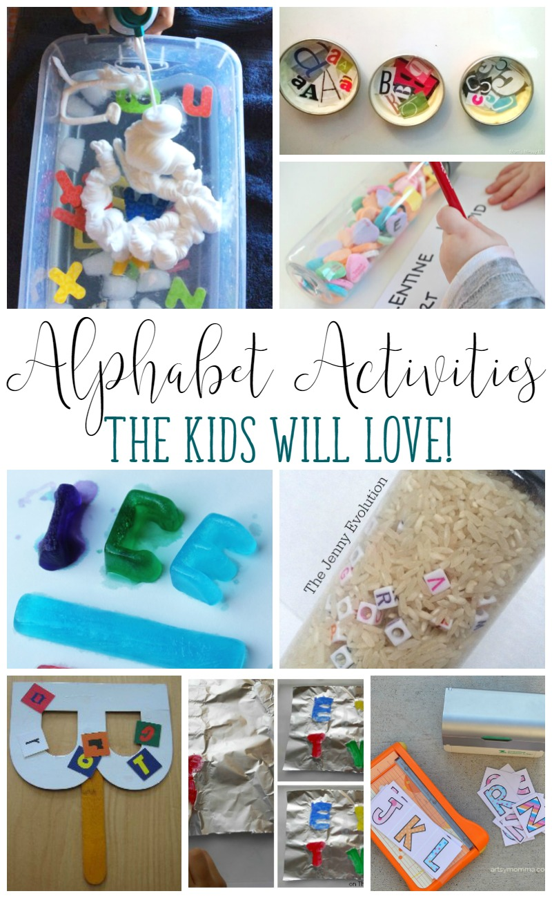 Looking for fun ways to play with letters? These Alphabet Practice Activities are a total blast!