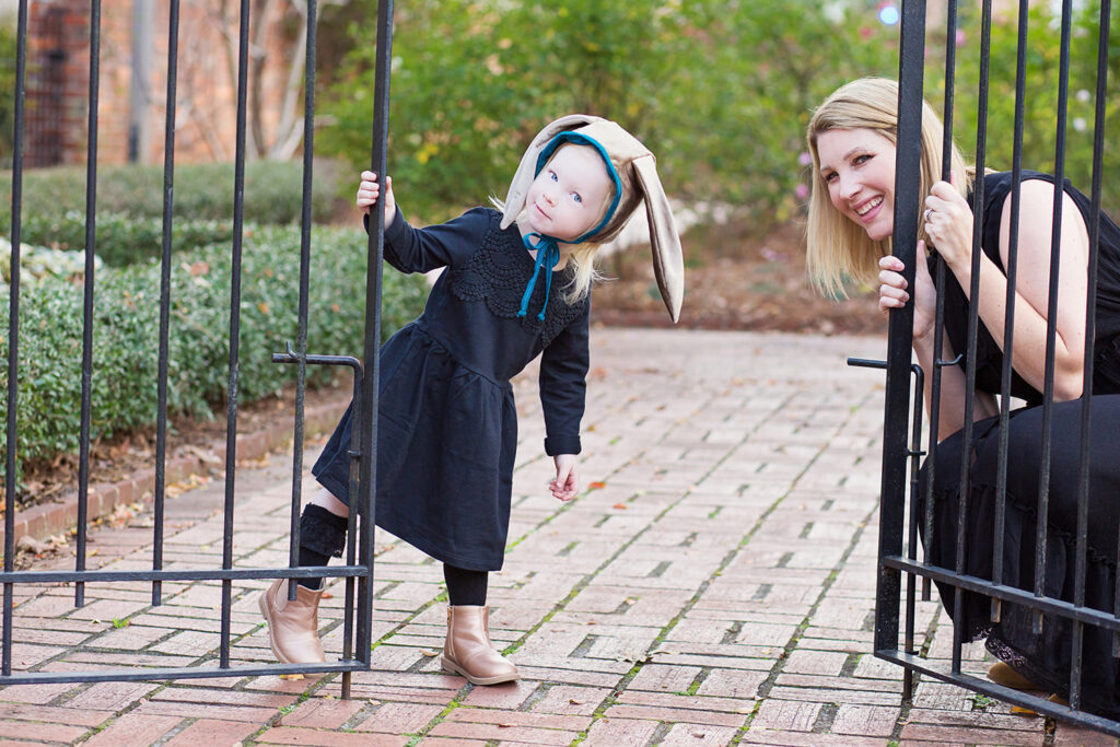 Mommy & Me Fashion - The Cutest Easter Bonnet by fashion blogger Carly from Lipgloss and Crayons